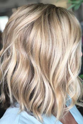 Best Medium Length Haircuts For Thick Hair 2019 -Amazing Look 11