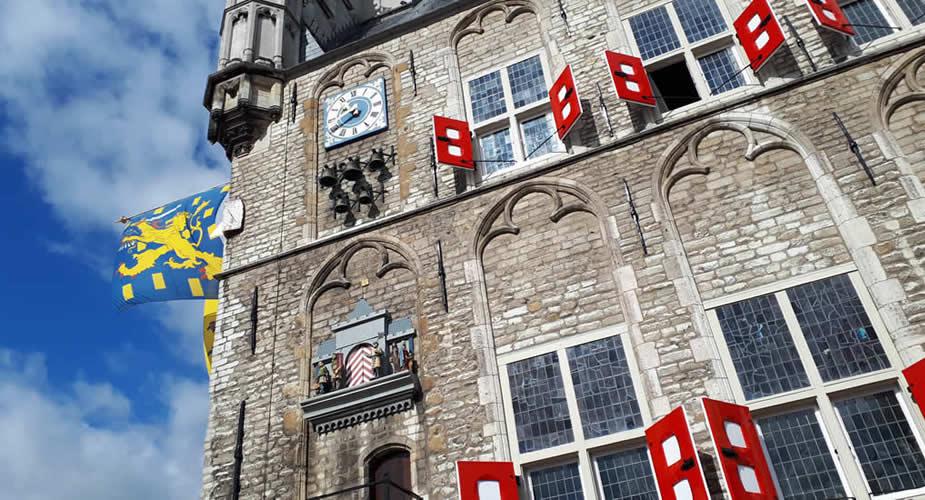 Bezienswaardigheden Gouda: stadhuis van Gouda | Mooistestedentrips.nl