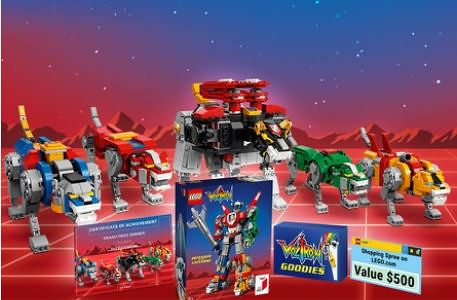 LEGO Ideas Voltron Contest