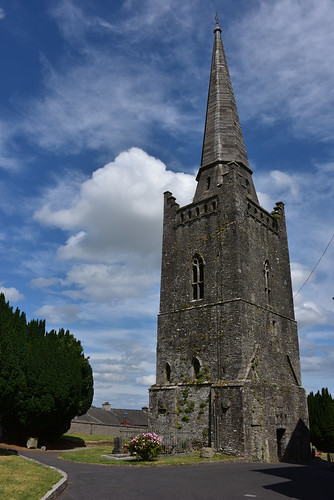 Spire, St. Columba's church, Kells