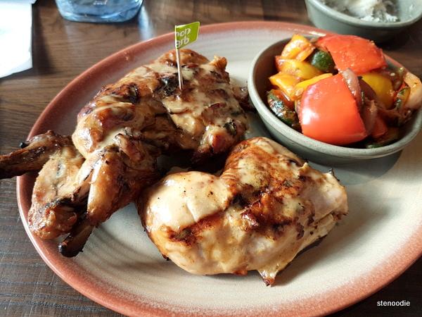 Whole Chicken, PERi-PERi Vegetables