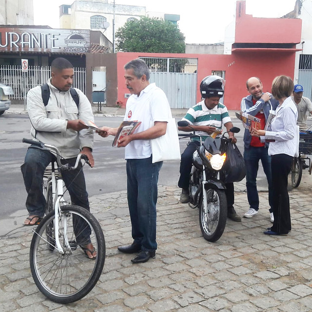 Caminhada por Governador Valadares