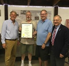 (L-R) Kevin Witkos, Rick Swenson, Gary Hath, Bill Simanski.