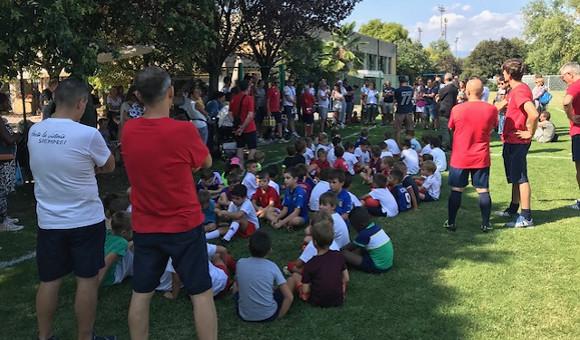 Grande festa per l'inizio della Scuola Calcio Virtus!