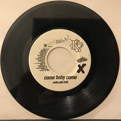 K7:COME BABY COME(RECORD SIDE-A)
