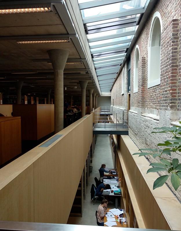 Arenberg  - 43242447575 15065d09a0 c - Bibliotecas en Lovaina: Arenberg y Gasthuisberg