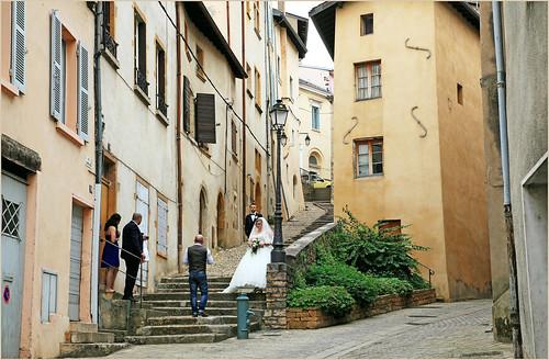 Rue Casse cou, Trévoux, Ain, Auvergne-Rhône-Alpes, France