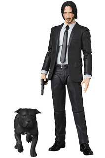 MAFEX John Wick (Chapter 2) Dog and Pen Included