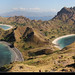 Panoramic view from the top of Pulau Padar, Komodo NP, Indonesia by JH_1982