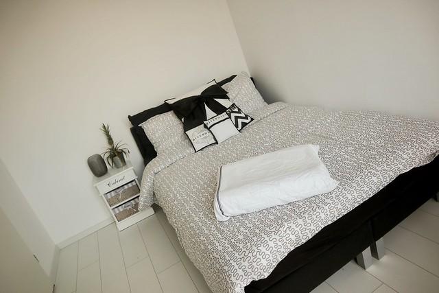 Zwart bed Riverdale beddengoed