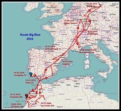 Route Blue 2016