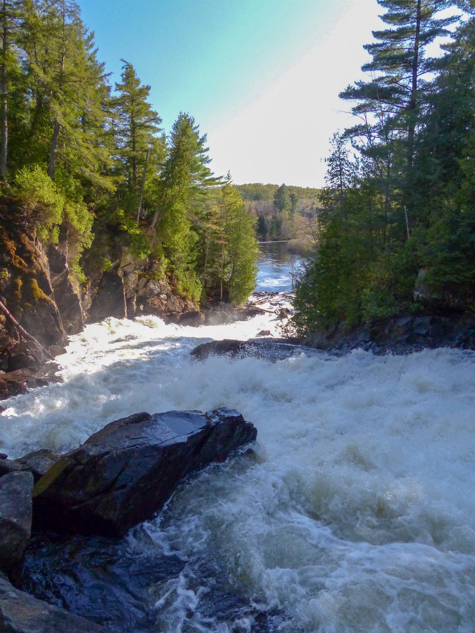 Oxtongue River - Ragged Falls Provincial Park (2)