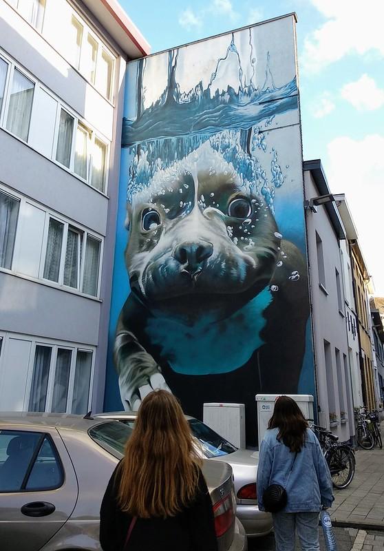 Smates  - 43568934254 9011af6333 c - Mechelen Muurt: arte urbano en Malinas.