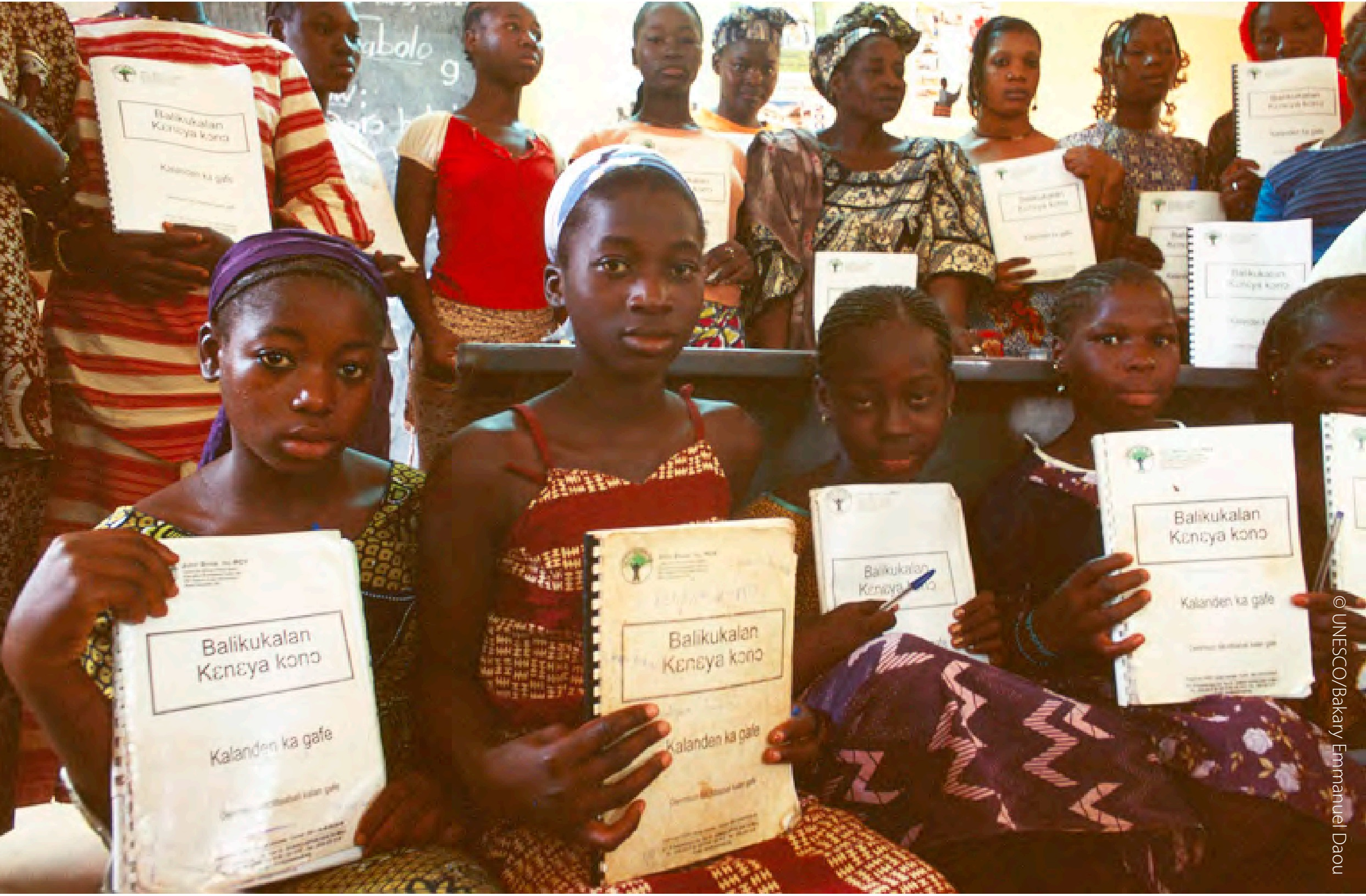 New teachers at a training center in Mali. Photo courtesy of UNESCO.