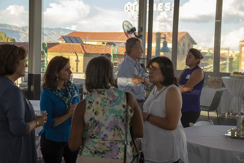 On Sept. 6, the Dean's Office and Alumni Affairs hosted the Class of 2019 at the Playground in Downtown Tucson