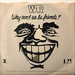 WAR:WHY CAN'T WE BE FRIENDS?(JACKET B)