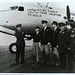 A photo of the last official flight crew of the Berlin Airlift. (U.S. Air Force photo)