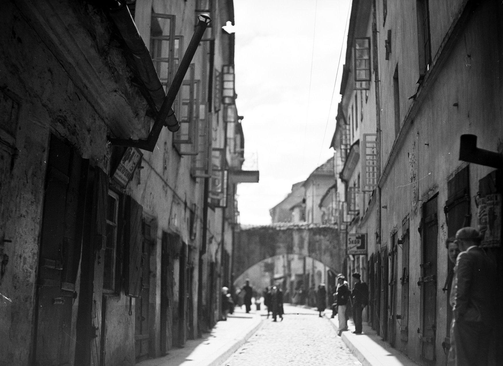 1935. Еврейский квартал