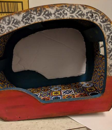 inside wall dry fit foam core