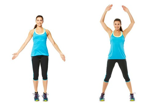 Aerobic Exercise – Jumping Jacks For Weight Loss