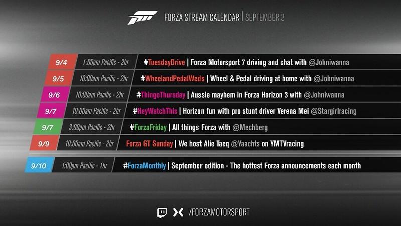 News, livestreams, and Calendar for FH4 - Page 2 - Forza Horizon 4