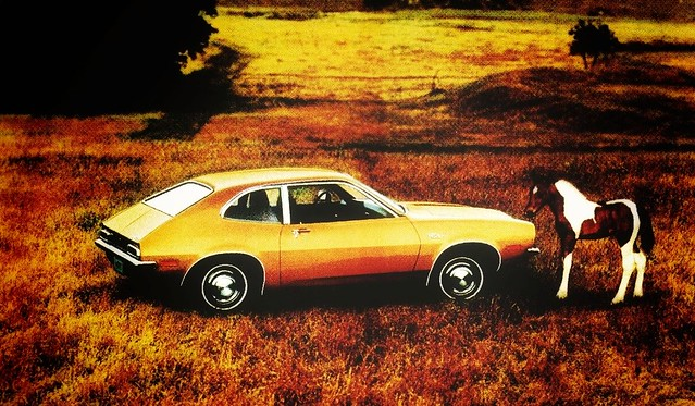 1971 Ford Pinto Print Ad