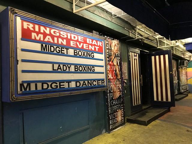 Ringside Bar, Poblacion