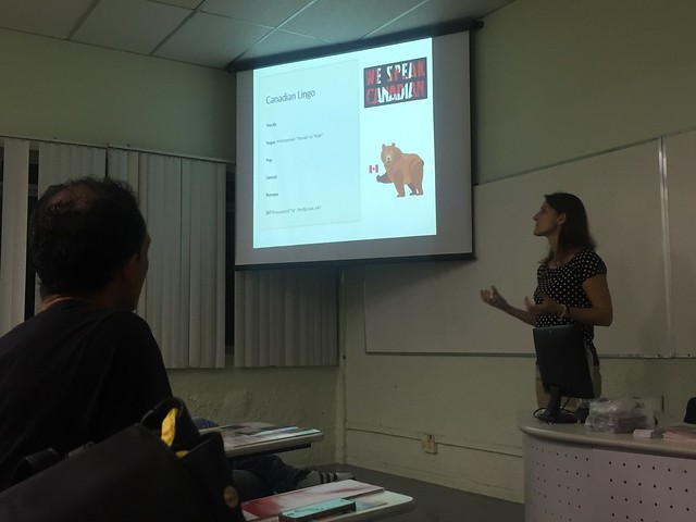 ARI - palestra com a English School of Canada (ESC)