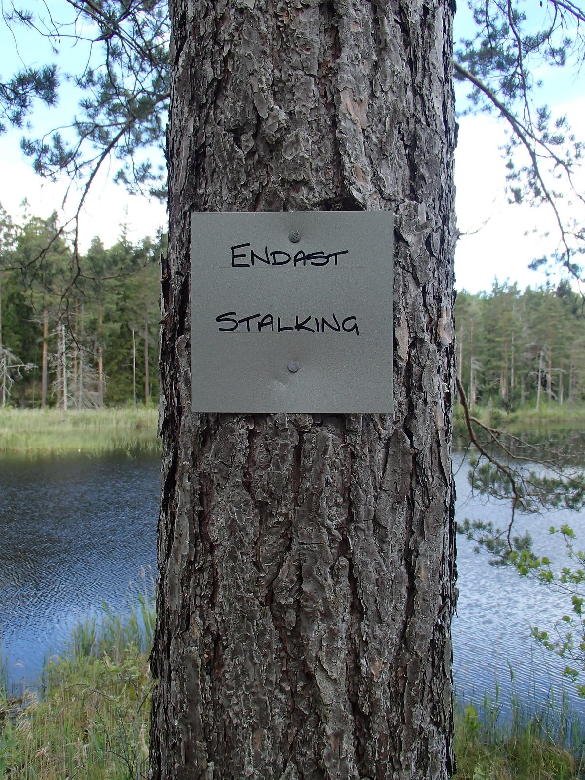 SÖ E6 Skylt Kärrsjön