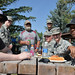 Airmen from the 341st Munitions Squadron pose for a photo at the annual base picnic Aug. 25, 2017, at Malmstrom Air Force Base, Mont. The annual base picnic allows all of Team Malmstrom to take a step back from the daily grind of the mission and focus on relaxing and sharing camaraderie. (U.S. Air Force photo/Airman 1st Class Daniel Brosam)