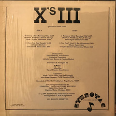 X'S III:RUNAWAY CHILD RUNNING WILD(JACKET B)