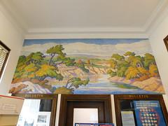 Lindsborg, Kansas Post Office Mural