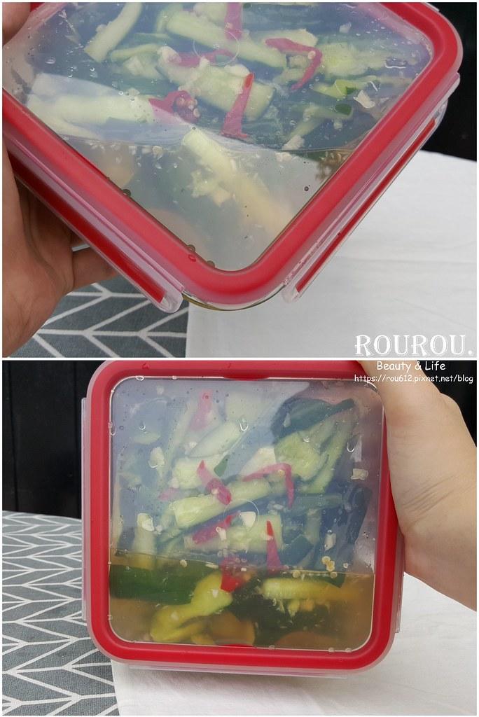 Tefal法國特福 無縫膠圈耐熱玻璃保鮮盒9