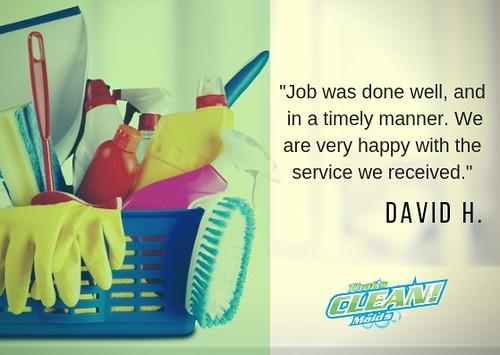 Just like David, you can come home to a clean living space. 😎 #tcmfeedback #happycustomer #maidservice #houston https://t.co/MZDGKnUofI