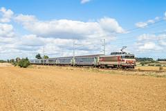 07 septembre 2018 BB 15017 Train 766918 Caen -> Paris Cesny-aux-Vignes (14) - Photo of Saint-Sylvain
