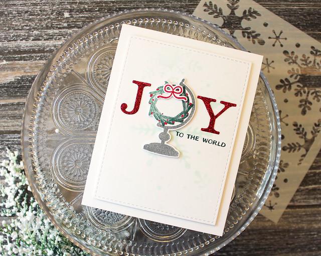 LizzieJones_PapertreyInk_September2018_GloriousGlobes_JoyToTheWorldCard
