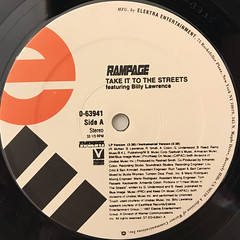 RAMPAGE:TAKE IT TO THE STREETS(LABEL SIDE-A)