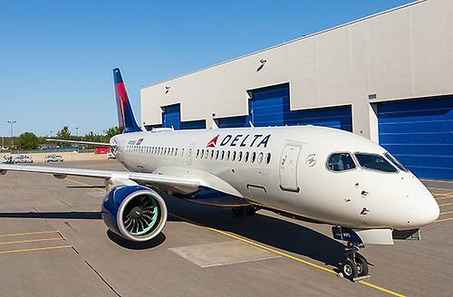 Delta A220-100 (Airbus)