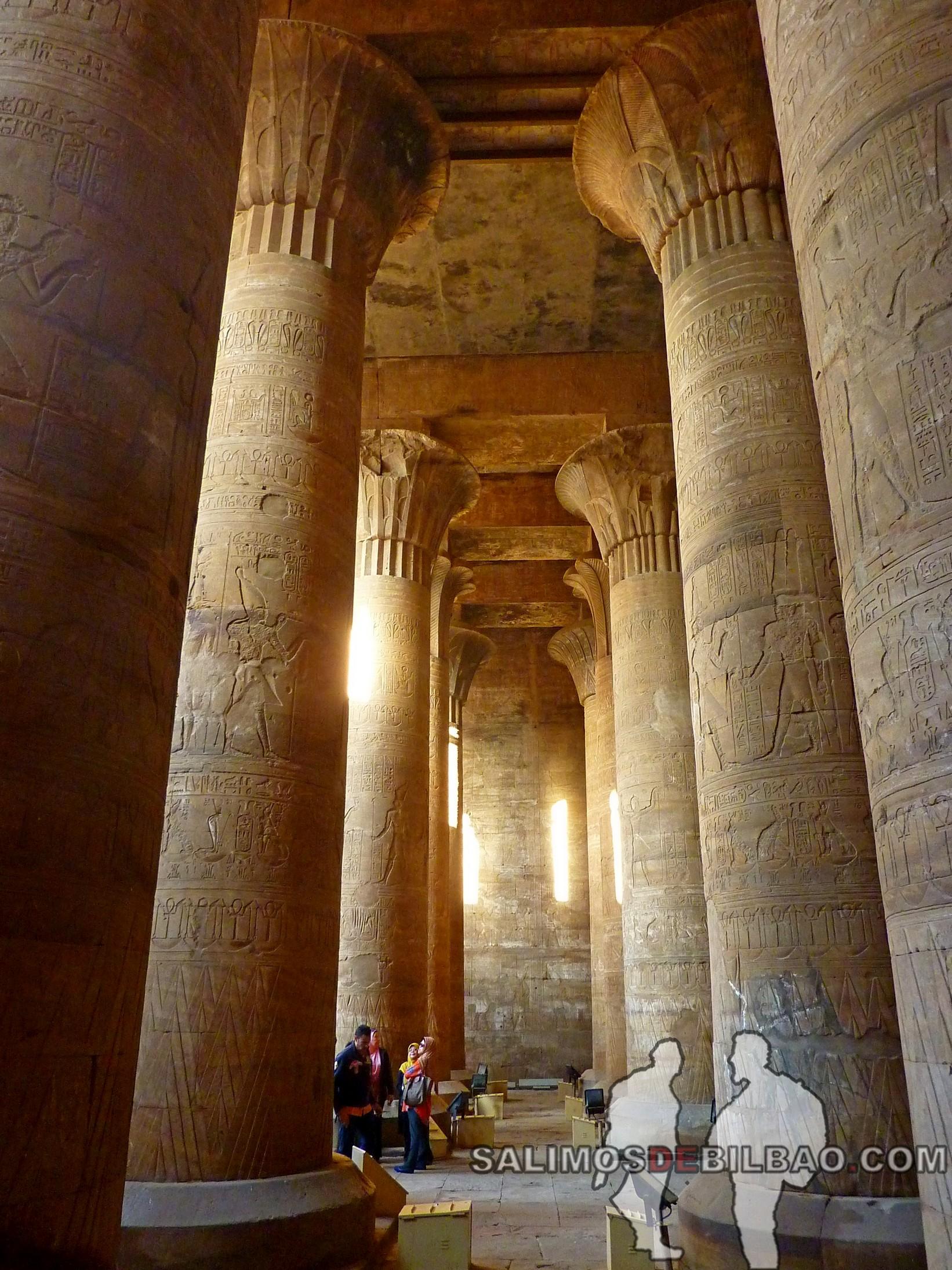 0674. Templo de Edfú