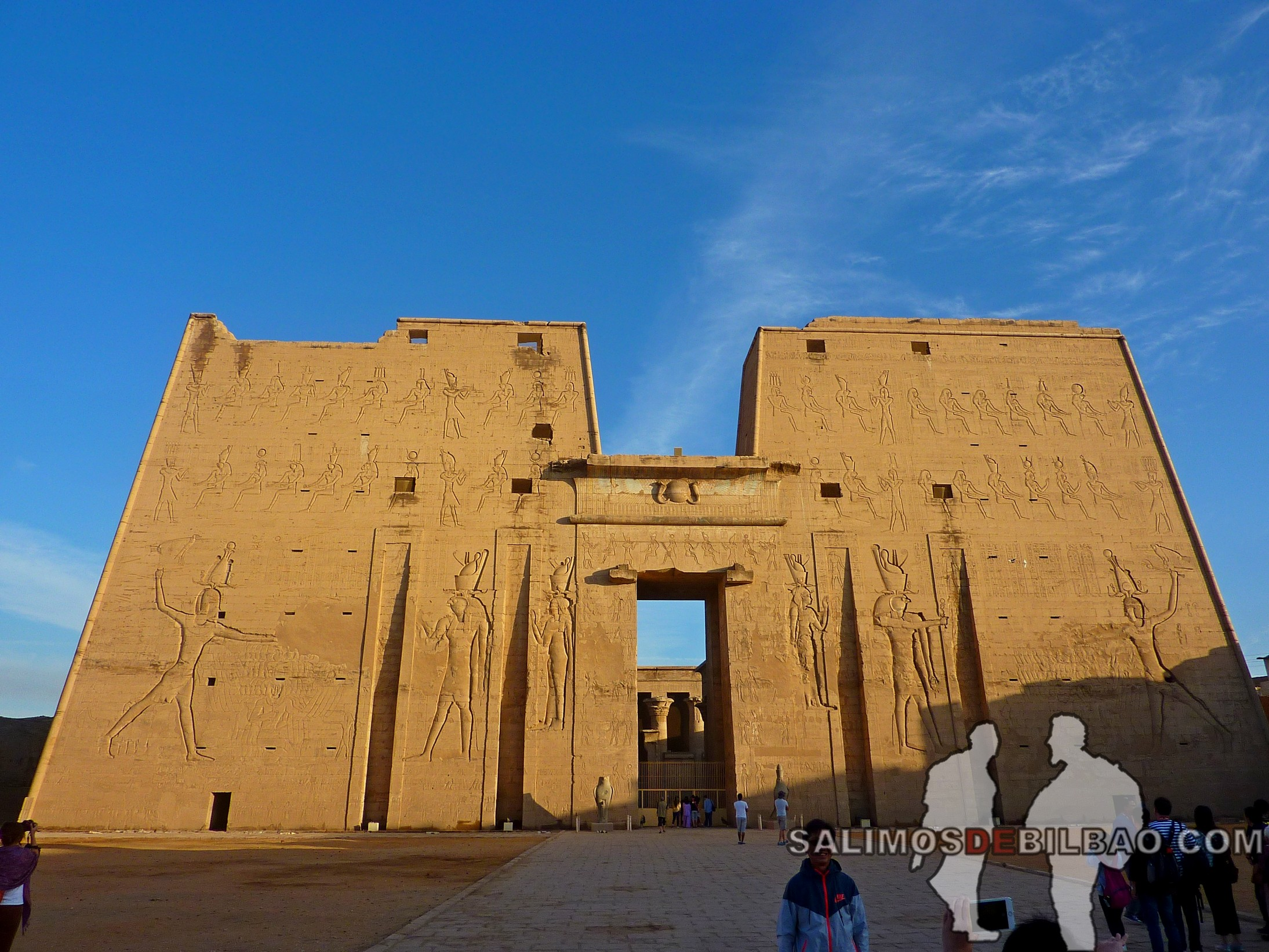 0663. Templo de Edfú