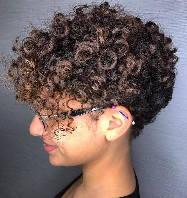 Best Bold Curly Pixie Haircut 2019- 50 Hairstyle Inspirations 6