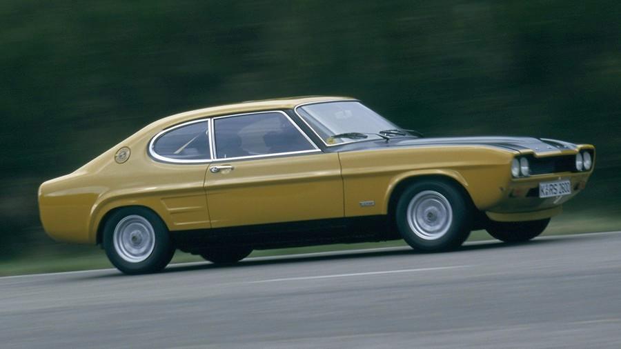 Foird Capri RS 2600 strana