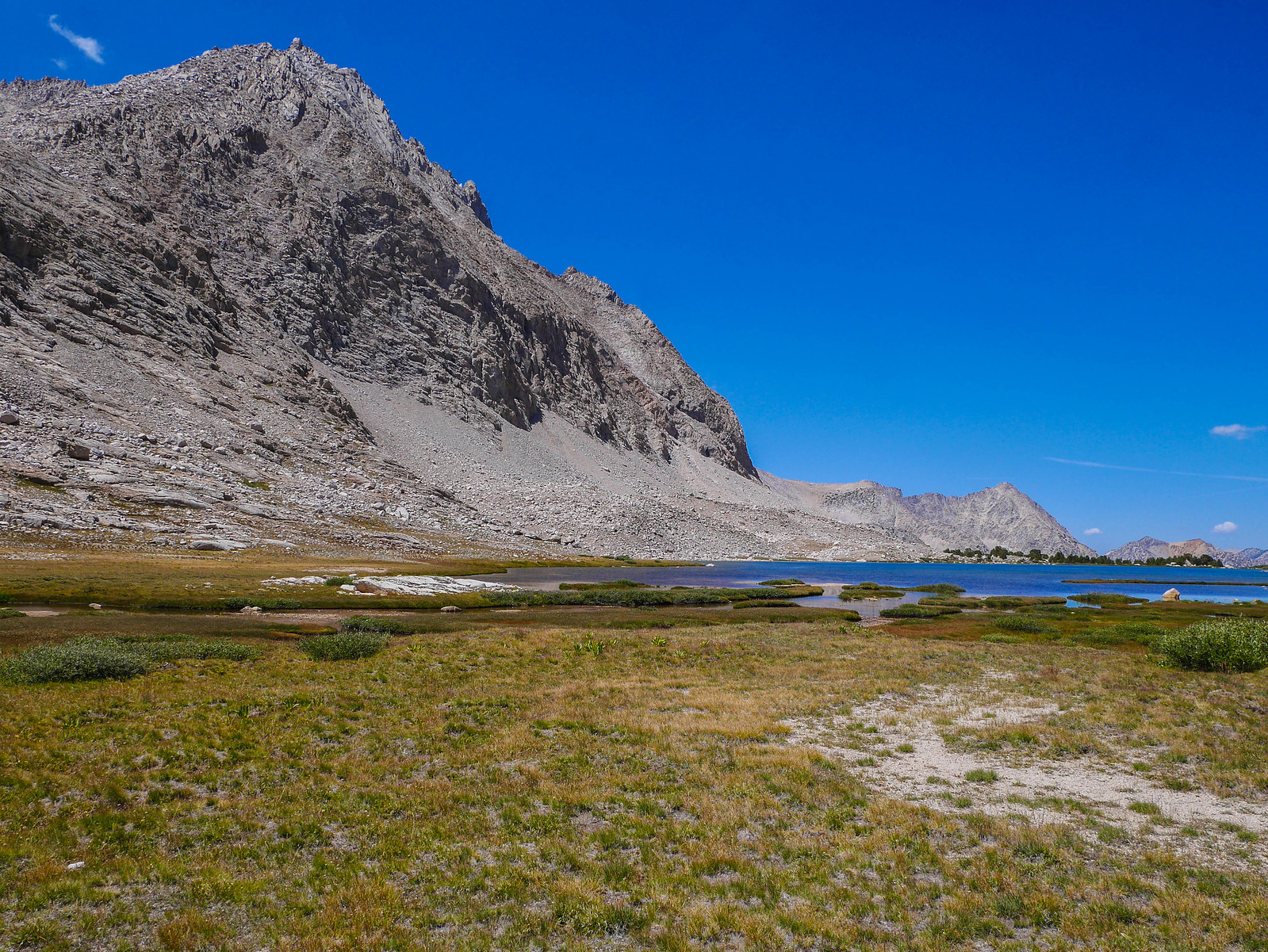 Center Peak and Golden Bear Lake
