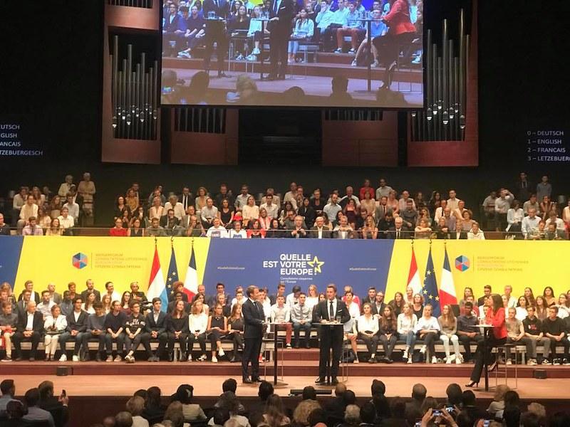 Consultation citoyenne sur l'Avenir de l'Europe à Luxembourg