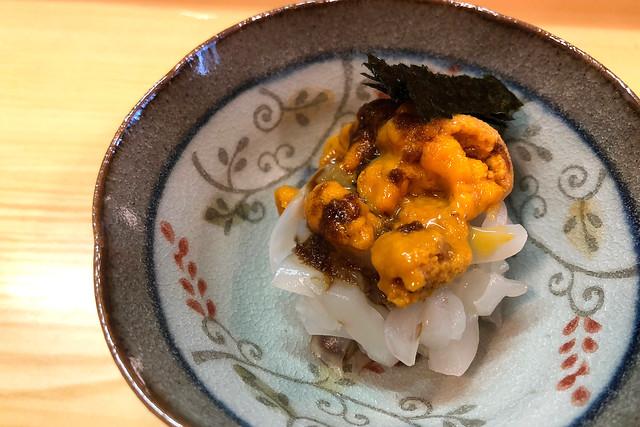 久しぶりの寿司屋にて(神戸・三宮)
