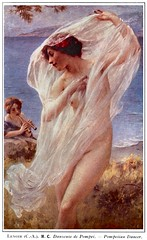 Charles-Amable Lenoir (1860-1926) Danseuse de Pompei (1913) (custom colorized version)