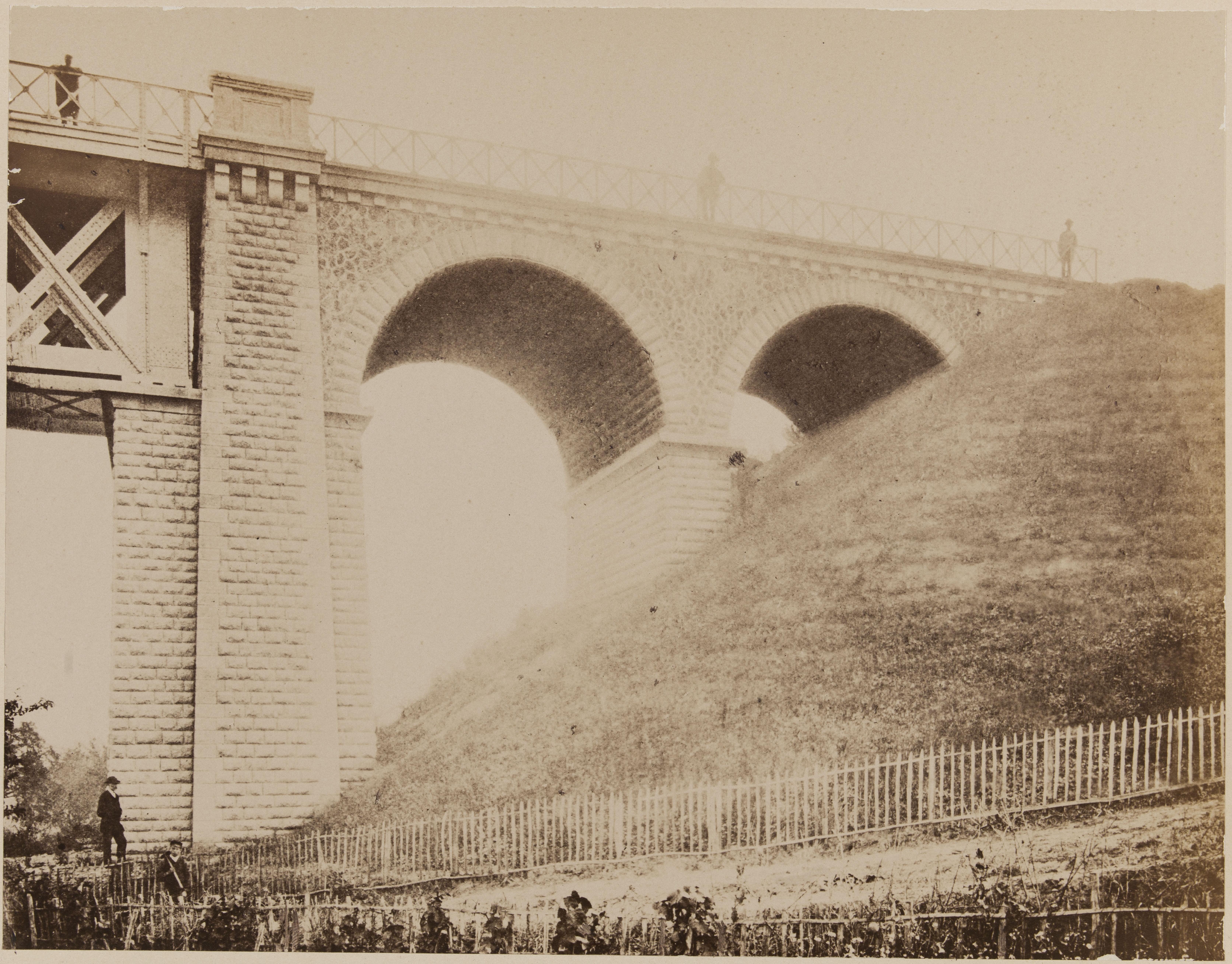 5. Виадук Марли. Устой моста со стороны Сен-Клу.