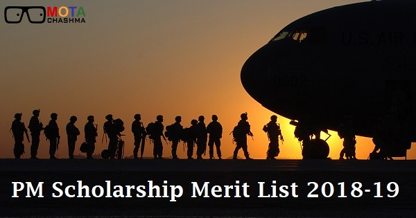 pm scholarship merit list