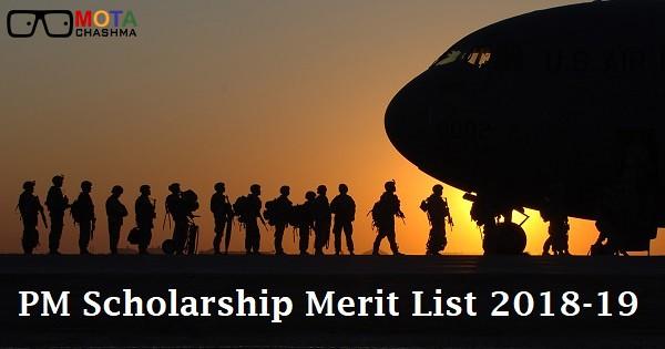 pm scholarship merit list