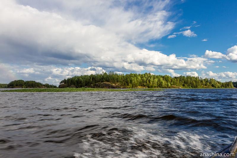 залив Лехмалахти, Ладожское озеро